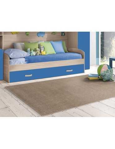 tappeto color tortora per ragazzi