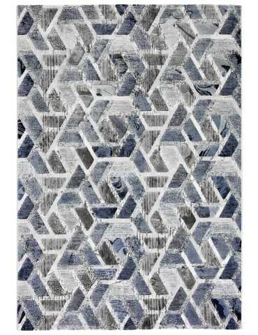 Pianta tappeto grigio celeste moderno