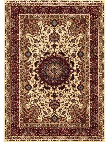 tappeto orientale visto dall'alto