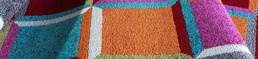 Tappeti multicolore