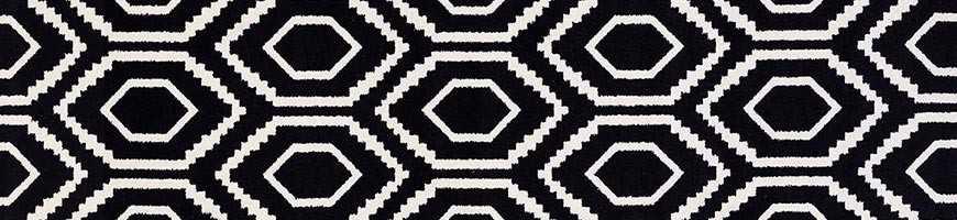 Tappeti moderni di color nero a meta prezzo